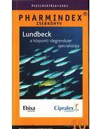 Pharmindex zsebkönyv Pszichiátria 2003.