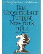 Das Grossmeister Turnier New York 1924