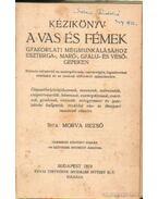 Kézikönyv a vas és fémek gyakorlati megmunkálásához Eszterga-Markó-Gyalu-és vésőgépeken