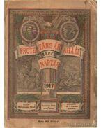 Protestáns árvaházi képes naptár 1917.