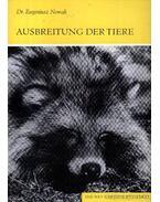 Ausbreitung der Tiere (Az állatok elterjedése)