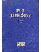 Evig zsebkönyv 2. kötet 1973.