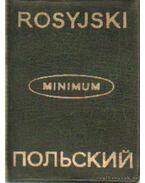 Orosz-lengyel; lengyel-orosz szótár