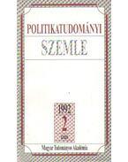 Politikatudományi szemle 1992. 2. szám