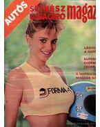 Autós Színész Újságíró Magazin 1988