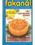 Fakanál 95/2. 47. - 101 egytálétel receptje