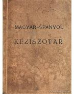 Magyar-spanyol kéziszótár
