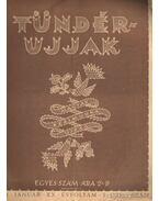 Tündérujjak 1944. január XX: évf. 1. (225.) szám.