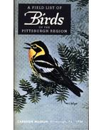 A Field List of the Birds of the Pittsburgh Region