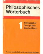 Philosophisches Wörterbuch I-II. kötet