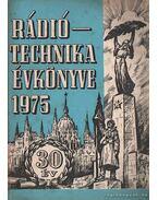 Rádiótechnika évkönyve 1975