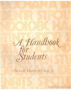 A Handbook for Students