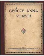 Geőcze Anna versei