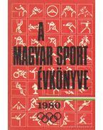 A magyar sport évkönyve 1980
