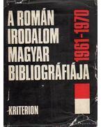 A román irodalom magyar bibliográfiája 1961-1970