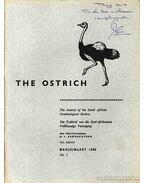The Ostrich Vol. XXXVII. No.1. 1966 (A strucc 37. évf. 1. szám 1966)