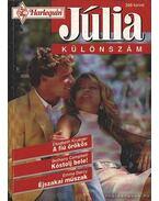 A fiú örökös; Kóstolj bele; Éjszakai műszak - Júlia különszám 1997/3.