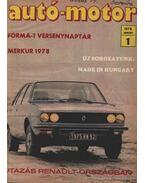 Autó-motor 1978 (hiányos)