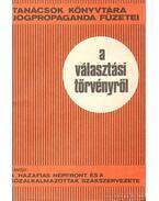 A választási törvényről - Vida István, Dr. Bacsó Jenő
