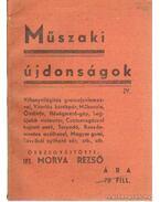 Műszaki újdonságok IV.