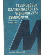 Települések csatornázási és vízrendezési zsebkönyve