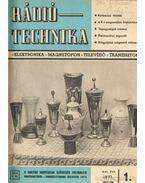 Rádiótechnika 1971. (teljes évfolyam)