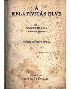 A relativitás elve