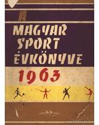 A magyar sport évkönyve 1963.