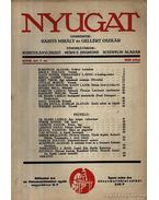 Nyugat 1935 XXVIII. évf. 7.szám
