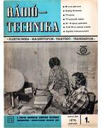 Rádiótechnika 1978. évfolyam (teljes)