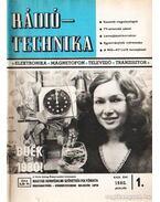 Rádiótechnika 1980. évfolyam (teljes)