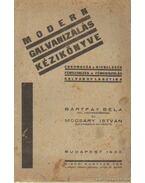 Modern galvanizálás kézikönyve