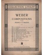 Compositions pour piano á 2 mains