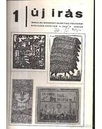 Új Írás 1968 1-12. szám (I-II. kötetben)