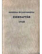 Geodéziai és kartográfiai zsebnaptár 1960