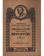 A Budapesti X. ker. tisztviselőtelepi Magy. Kir. Állami Széchenyi István reálgimnázium értesítője 1932-33. iskolai évről