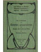 Vier erzahlungen aus contes populaires und Contes des Bords du Rhin par Erckmann-Chatrian