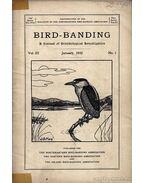 Bird-banding (Madarak megjelölése)