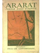 Ararát magyar zsidó évkönyv az 1940. évre