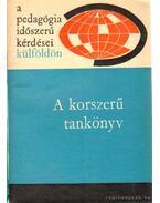 A korszerű tankönyv