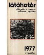 Látóhatár 1977 Augusztus