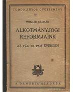 Alkotmányjogi reformjaink