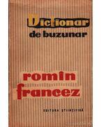 Dictionar de buzunar Romin-Francez / Zseb szótár Román-Francia