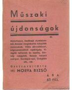 Műszaki újdonságok III.
