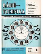 Rádiótechnika 1976. évfolyam (teljes)