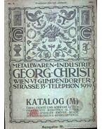 Metallwaren- Industrie Katalog (M) 1913 Nr. 3. (Fémipari Katalógus 1913/3.)