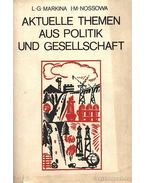 Aktuelle Themen aus Politik und Gesellschaft (Aktuális politikai és társadalmi témák)