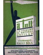 A toll I. évf. 17. sz. (1929. augusztus 11.) - Zsolt Béla