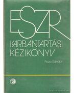 ESZR karbantartási kézikönyv