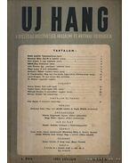 Új Hang 1952 I. évf. 6. szám